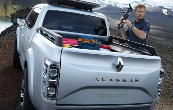2016 Renault Pick Up Alaskan Modeli
